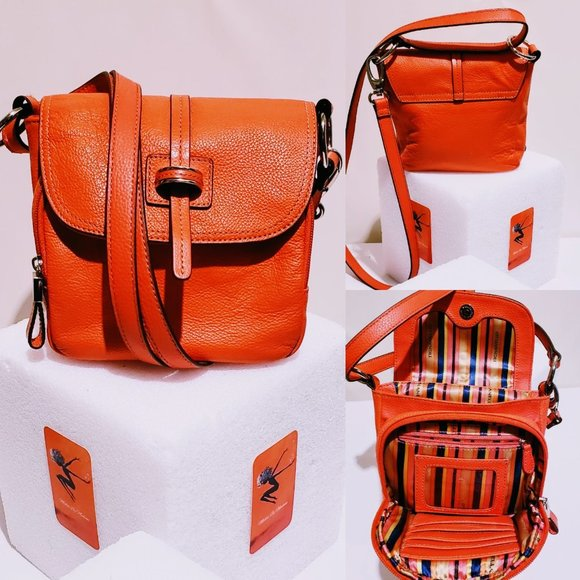 Tignanello Handbags - 🆕Tignanello Leather Crossbody Messenger bag🐝💋